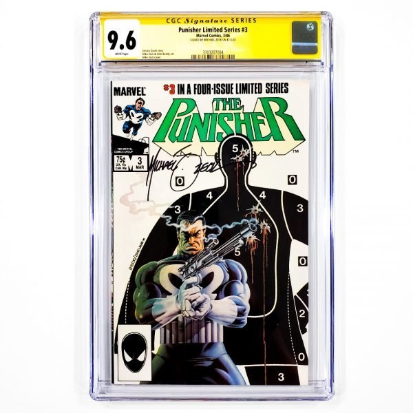 Punisher Limited Series #3 CGC SS 9.6 NM+ Front