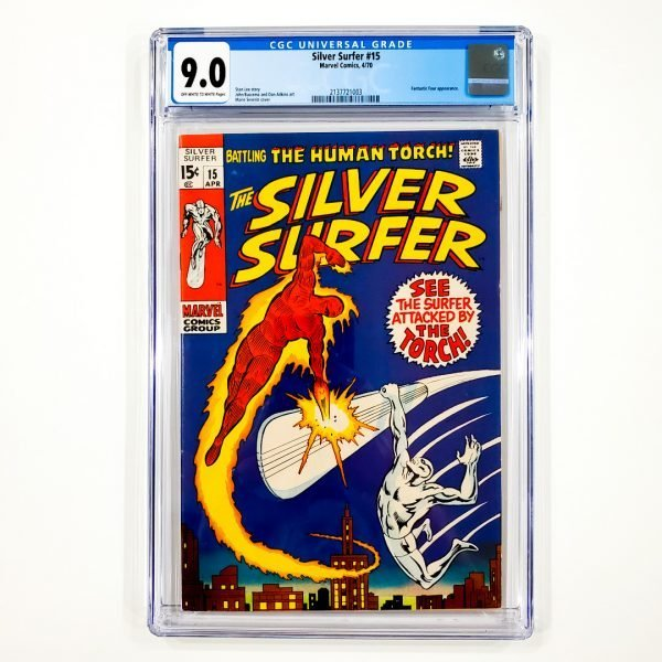 Silver Surfer #15 CGC 9.0 VF/NM Front