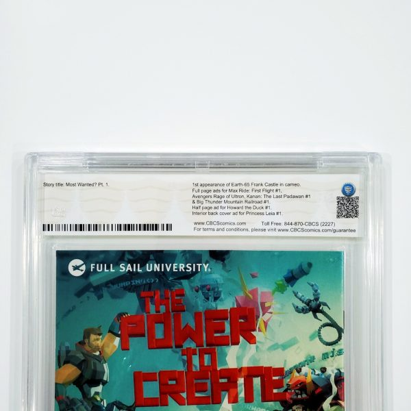 Spider-Gwen #1 CBCS SS 9.8 NM/M Young Variant Back Label