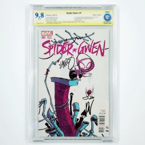 Spider-Gwen #1 CBCS SS 9.8 NM/M Young Variant Front
