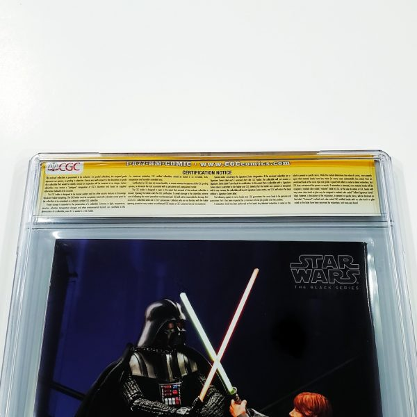 Star Wars (2015) #1 CGC SS 9.8 NM/M Campbell Variant Back Label