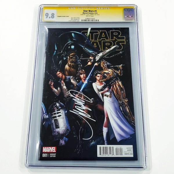 Star Wars (2015) #1 CGC SS 9.8 NM/M Campbell Variant Front