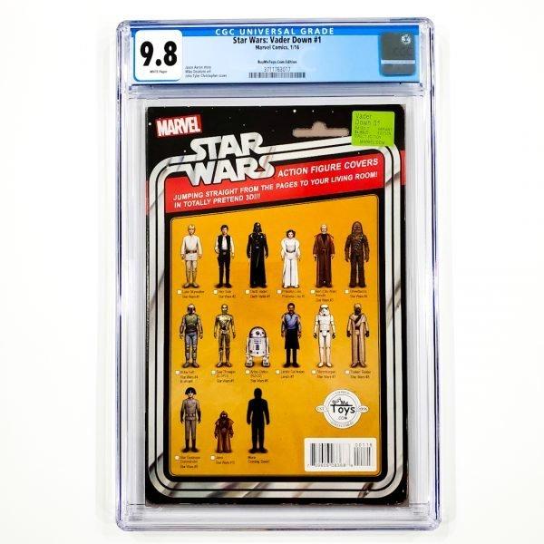 Star Wars: Vader Down #1 CGC 9.8 NM/M BuyMeToys.com Variant Front