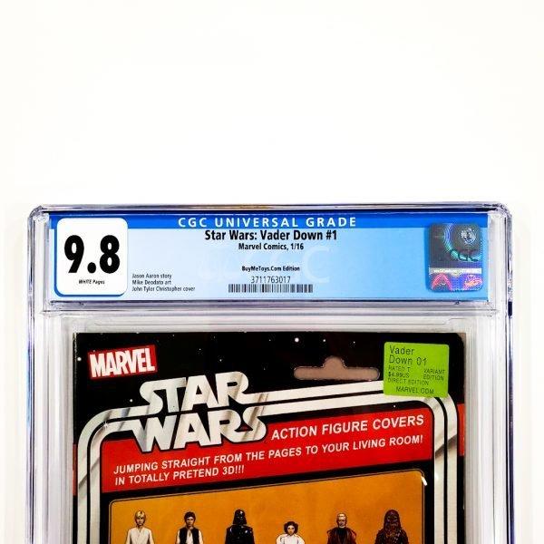 Star Wars: Vader Down #1 CGC 9.8 NM/M BuyMeToys.com Variant Front Label