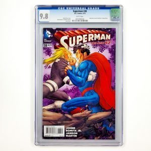 Superman #38 CGC 9.8 NM/M Front