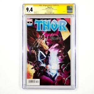 Thor (2020) #4 CGC SS 9.4 NM Stegman Variant Front