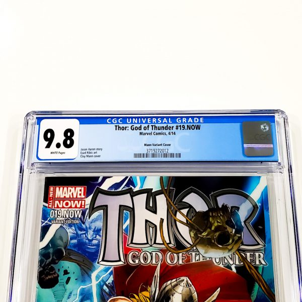 Thor: God of Thunder #19.NOW CGC 9.8 NM/M Mann Variant Front Labe