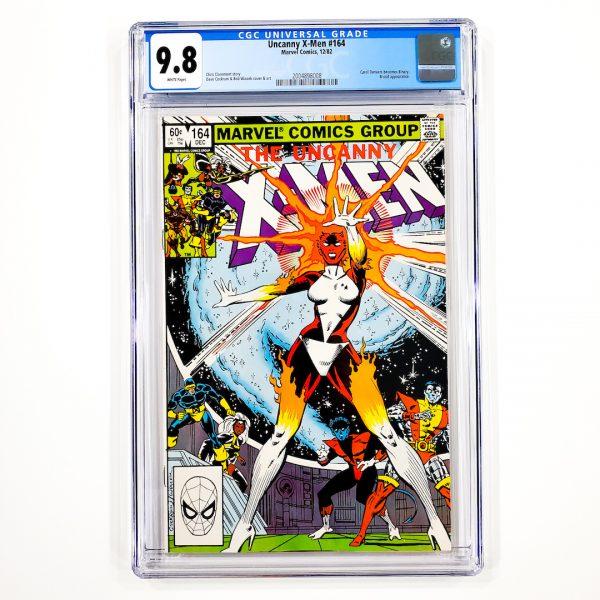 Uncanny X-Men #164 CGC 9.8 NM/M Front