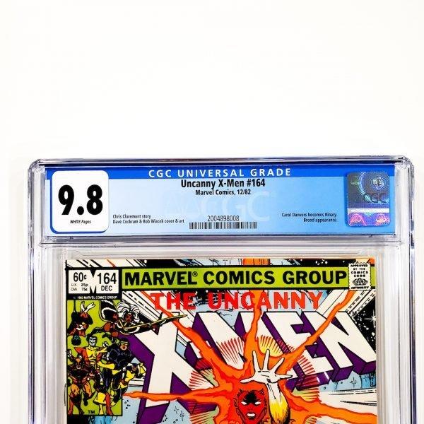 Uncanny X-Men #164 CGC 9.8 NM/M Front Label