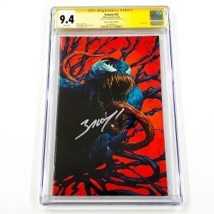 Venom #25 CGC SS 9.4 NM Rapoza Virgin Variant Front