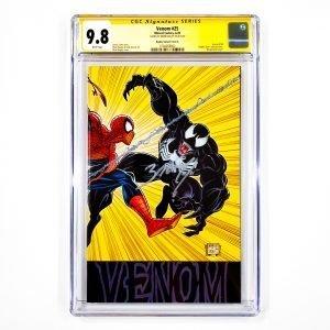 Venom (2018) #25 CGC SS 9.8 NM/M Bagley Variant A Front