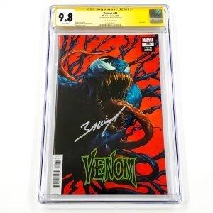 Venom (2018) #25 CGC SS 9.8 NM/M Rapoza Variant Front