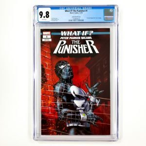 What If? The Punisher #1 CGC 9.8 NM/M Jusko Variant Front