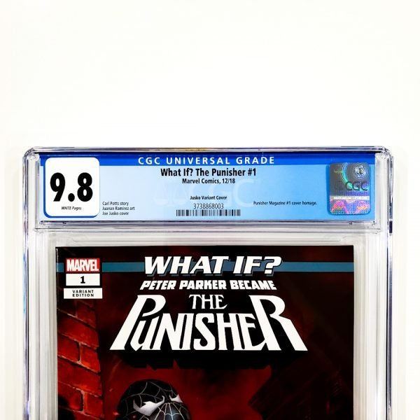 What If? The Punisher #1 CGC 9.8 NM/M Jusko Variant Front Label
