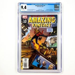 Amazing Fantasy (2006) #15 CGC 9.4 NM Front