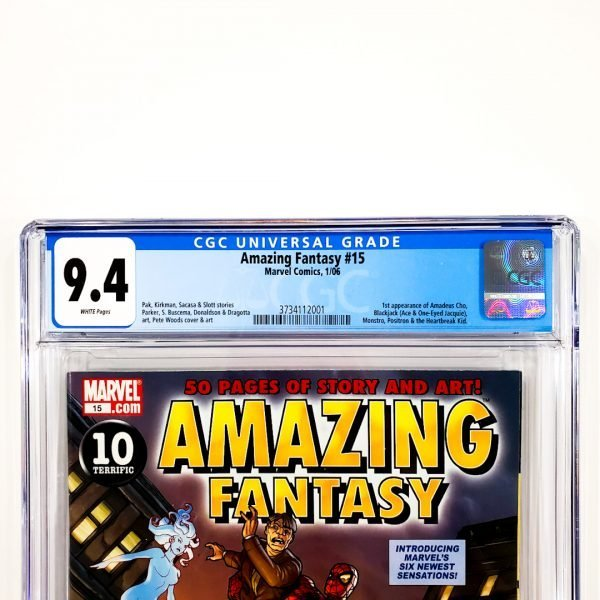 Amazing Fantasy (2006) #15 CGC 9.4 NM Front Label