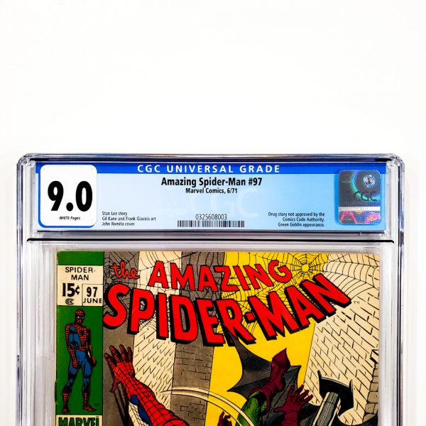 Amazing Spider-Man #97 CGC 9.0 VF/NM Front Label