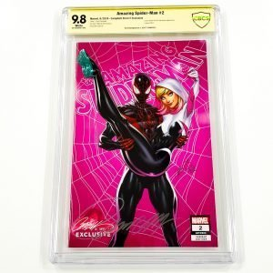 Amazing Spider-Man (2018) #2 CBCS SS 9.8 NM/M Campbell Variant E Front