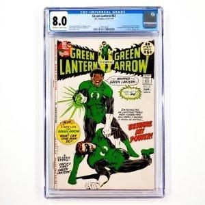 Green Lantern #87 CGC 8.0 VF Front