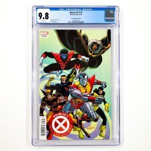 House of X #1 CGC 9.8 NM/M Cockrum Variant Front