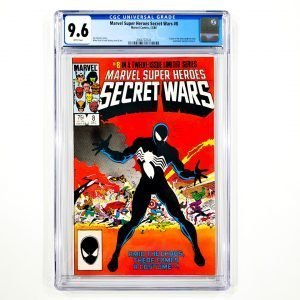 Marvel Super Heroes Secret Wars #8 CGC 9.6 NM+ Front
