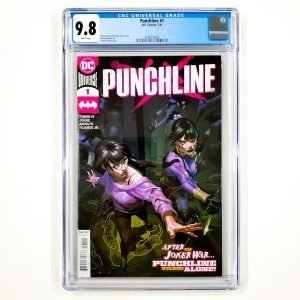 Punchline #1 CGC 9.8 NM/M Cover A Front