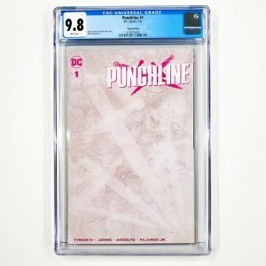 Punchline #1 CGC 9.8 NM/M Sketch Variant Front