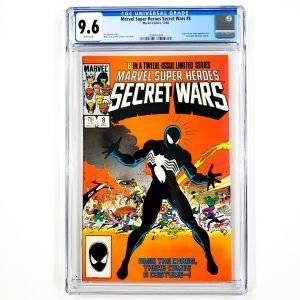 Marvel Super Heroes Secret Wars #8 CGC 9.6 NM+ Front