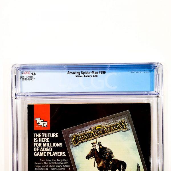 Amazing Spider-Man #299 CGC 9.8 NM/M Back Label