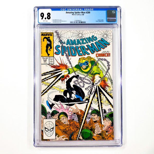 Amazing Spider-Man #299 CGC 9.8 NM/M Front