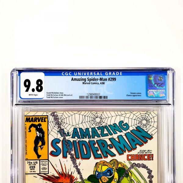 Amazing Spider-Man #299 CGC 9.8 NM/M Front Label