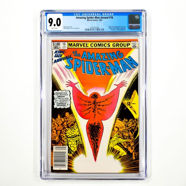 Amazing Spider-Man Annual #16 CGC 9.0 VF/NM Newsstand Edition Front