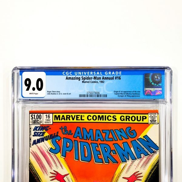 Amazing Spider-Man Annual #16 CGC 9.0 VF/NM Newsstand Edition Front Label