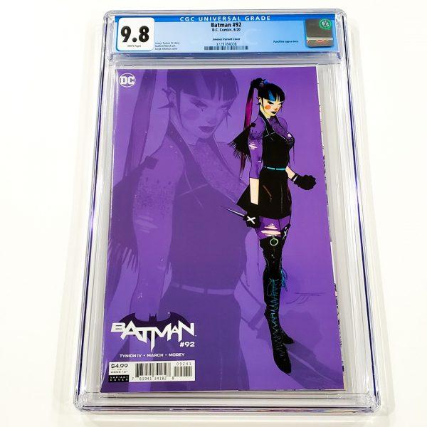 Batman #92 CGC 9.8 NM/M Jimenez 1:25 Design Variant Front