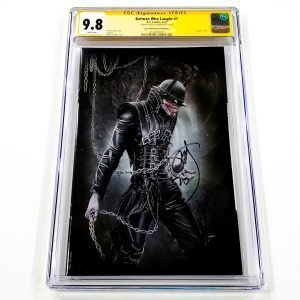 Batman Who Laughs #1 CGC SS 9.8 NM/M Comic Market Street Edition E Front