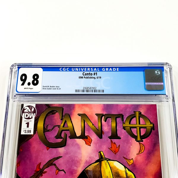 Canto #1 CGC 9.8 NM/M Front Label