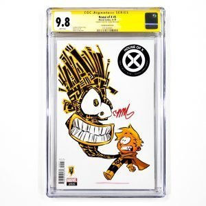 House of X #5 CGC SS 9.8 NM/M Skottie Young Variant Front