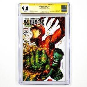 Immortal Hulk #31 CGC SS 9.8 NM/M Kirkham Variant C Front