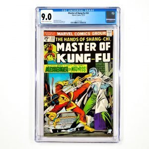 Master of Kung-Fu #33 CGC 9.0 VF/NM Front