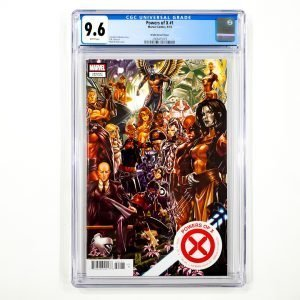 Powers of X #1 CGC 9.6 NM+ Brooks Variant Front