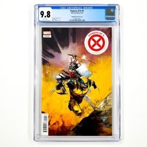 Powers of X #1 CGC 9.8 NM/M Huddleston Variant Front