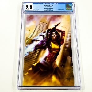 Powers of X #1 CGC 9.8 NM/M Unknown Comics Virgin Variant Front