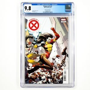 Powers of X #1 CGC 9.8 NM/M Weaver Variant Front
