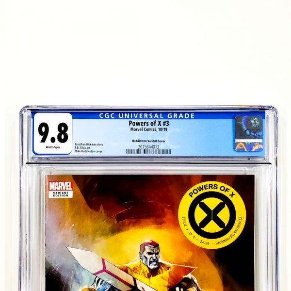 Powers of X #3 CGC 9.8 NM/M Huddleston Variant Front Label