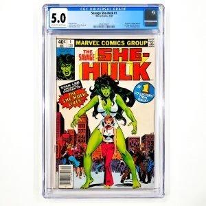 Savage She-Hulk #1 CGC 5.0 VG/FN Front