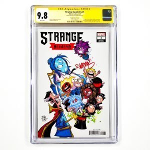 Strange Academy #1 CGC SS 9.8 NM/M Young Variant Front