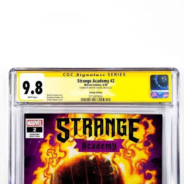 Strange Academy #2 CGC SS 9.8 NM/M Variant Front Label