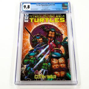 Teenage Mutant Ninja Turtles #100 CGC 9.8 NM/M Retailer Incentive Variant C Front