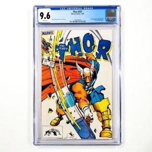 Thor #337 CGC 9.6 NM+ Front