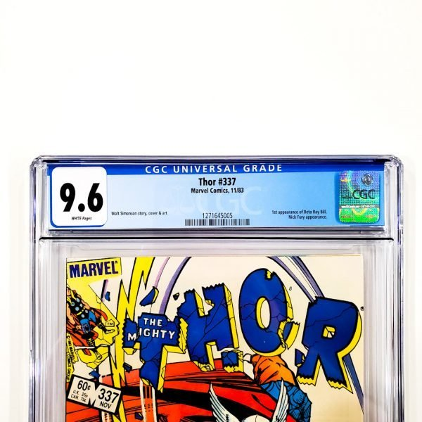 Thor #337 CGC 9.6 NM+ Front Label